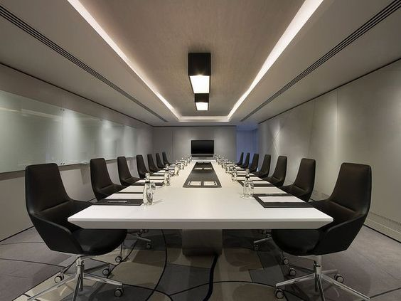 Very Attractive Modern Boardroom The Chairs Look Amazing