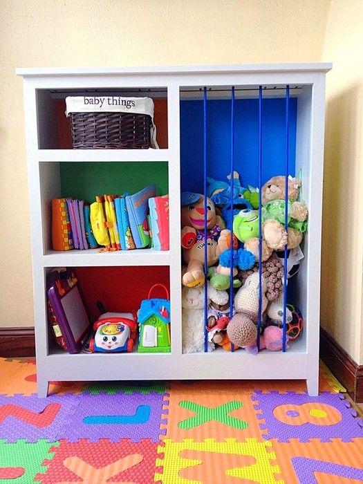 Toys Storage Ideas That Kids