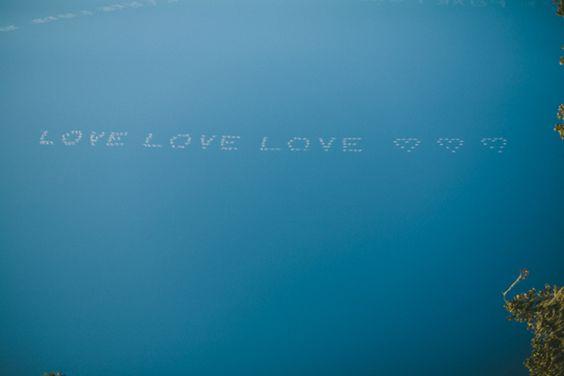 Its written in the sky...: