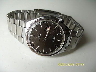 Ruhla quartz 32768 vintage watch