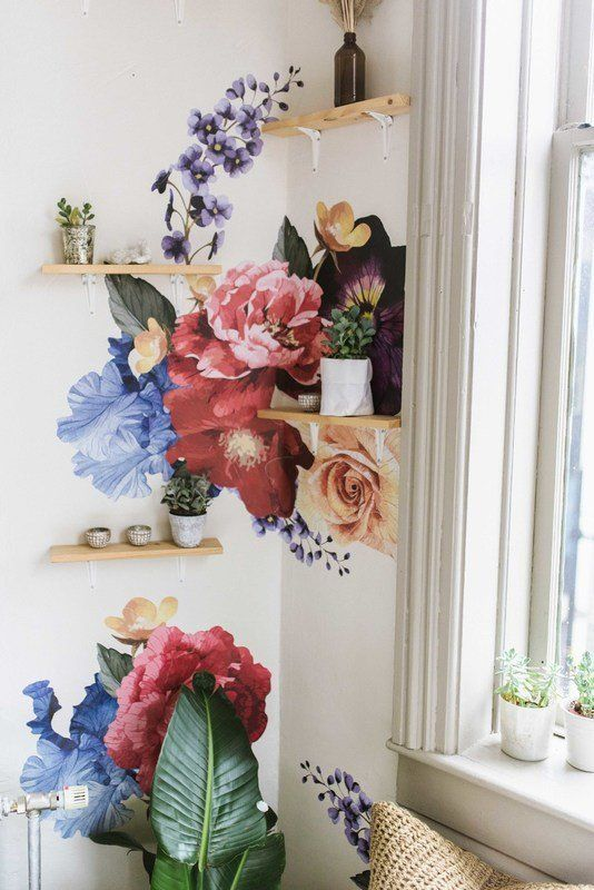 Urban Walls Reduced Vintage Wall Decal Wayfair Floral Wall