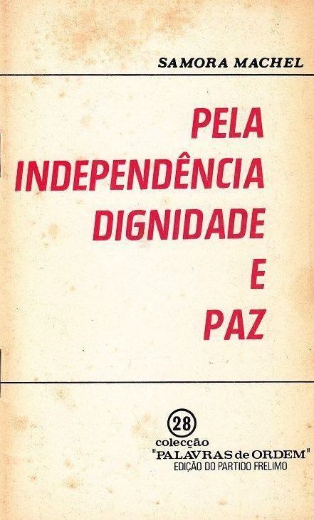 Pela independencia dignidade e paz