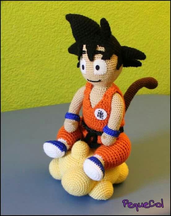 Amigurumi Dragon Ball Goku : Goku and Crochet on Pinterest