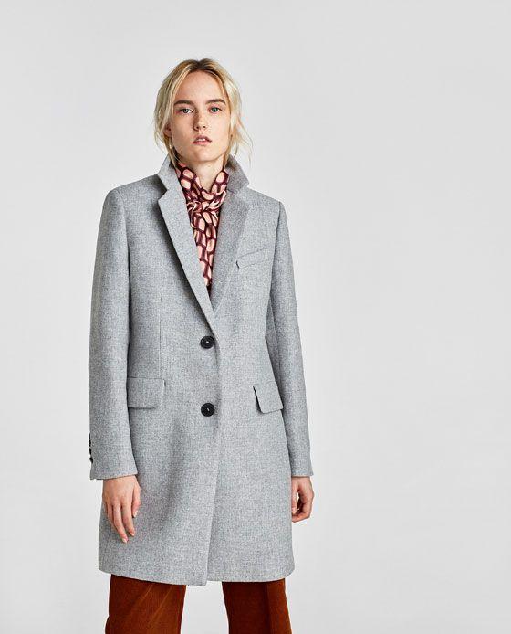 Abrigos Mujer Zara Otoño Invierno 2016 2017