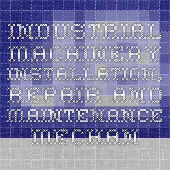 mpr-book-img Industrial Maintenance Resumes Pinterest - industrial maintenance resume