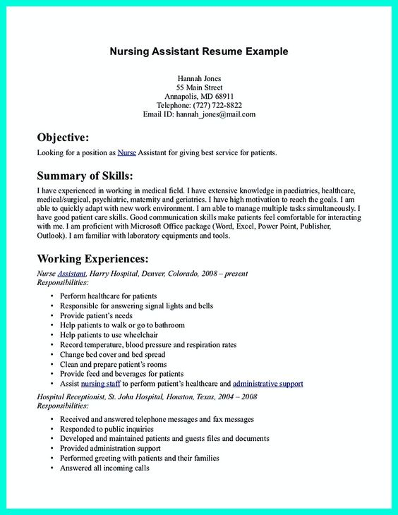 resume resume examples and caregiver on pinterest