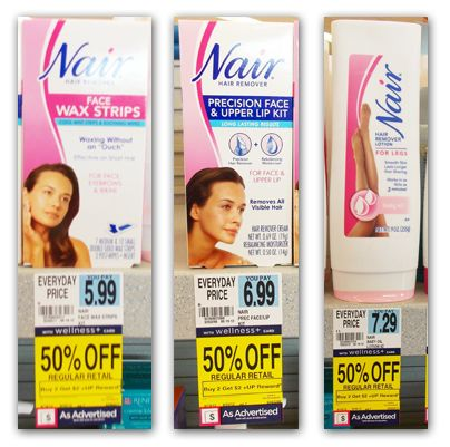 Nair Products, As Low As $0.50 at Rite Aid!