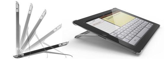 Un stand para iPad bastante elegante y poco llamativo.