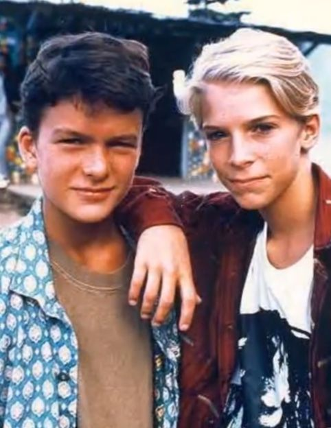 Balthazar Getty And Chris Furrh Lord Of The Flies 1990 Lord Of The Flies Novel Movies William Golding