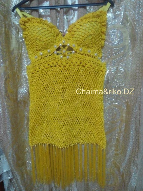 sexy dress crochet <3
