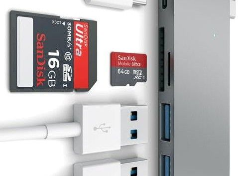 The Tiny USB-C Card Reader