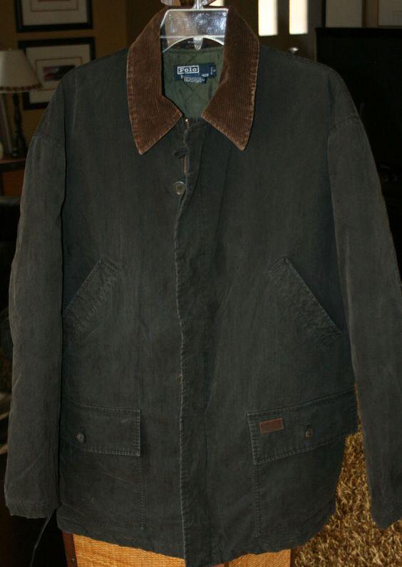 Ralph Lauren Men JAMAICA Full Zip Polo White Jackets