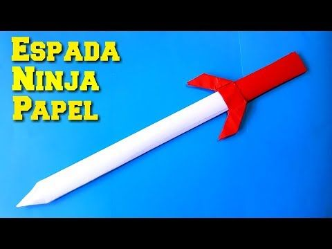 como hacer las armas de las tortugas ninja de papel