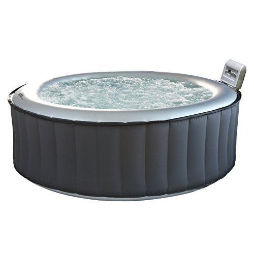 Happy Garden Spa Gonflable Rond Silver Cloud 6 Places Spa Gonflable Piscines En Kit Spa