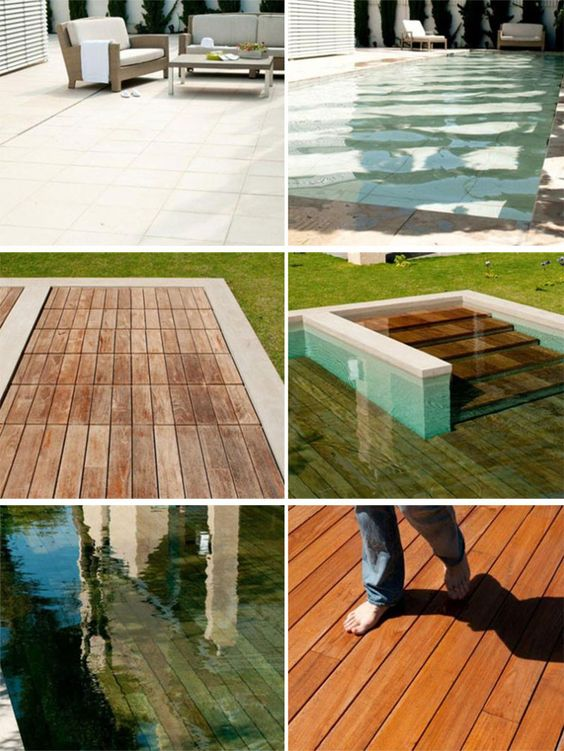 Patio That Turns Into A Pool The Hottest Water Slides Found All ...