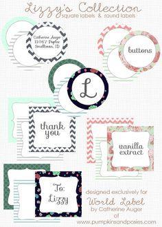 Free Label Printables