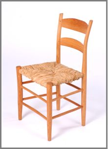 Ladderback Chair, by Mark Krawczyk