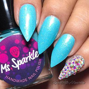 Ms. Sparkle- Beautometry Exclusive- April's Enchanting Snow