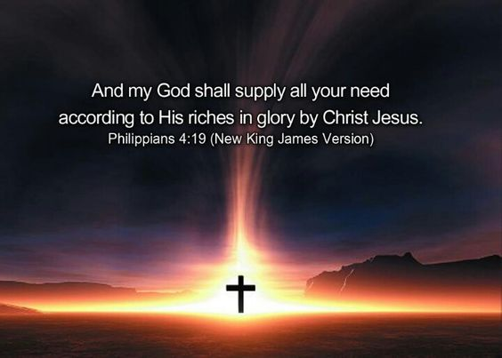 Image result for philippians 4:19 pics