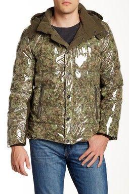 Gino Hooded Down Waterproof Jacket