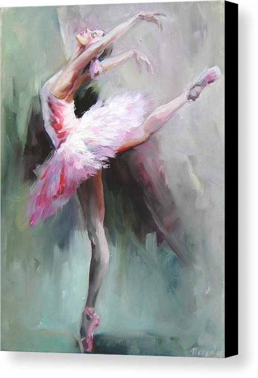 BALLET DANCER HIGHEST QUALITY CANVAS PRINT WALL ART READY TO HANG