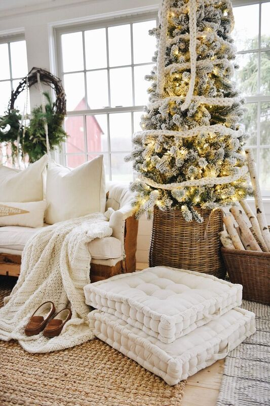 Modern Farmhouse Holiday Decorating Ideas And Inspiration With