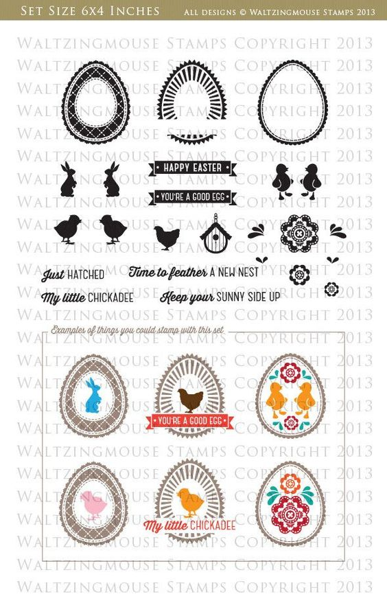 waltzingmouse stamps a good egg - Google zoeken