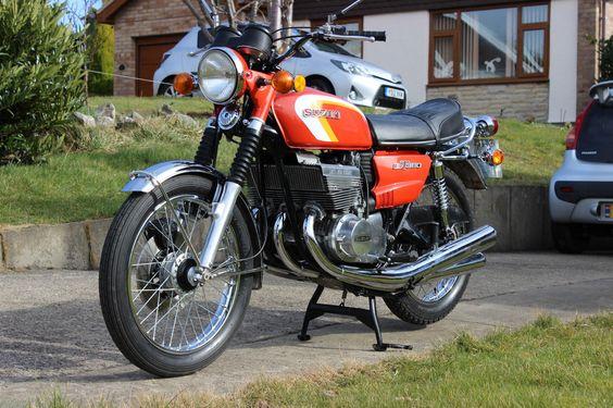 1973 Suzuki GT 380