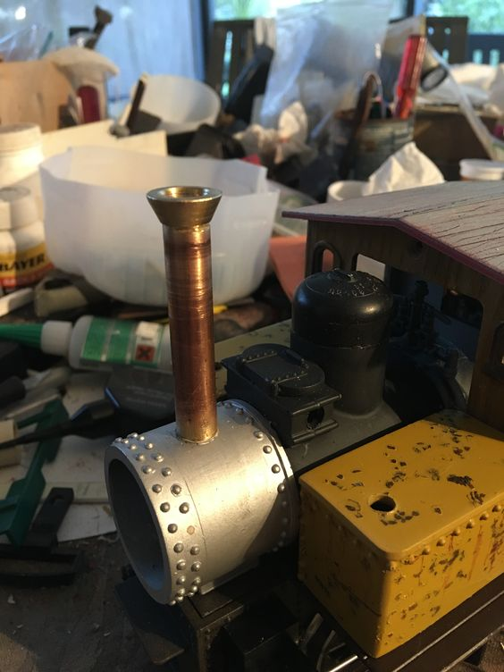brass stack