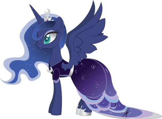 Princess Luna In A Dress Re Fallout Equestria Roleplay Season 3 Ooc Character Sheets