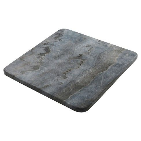 Thirstystone Marble Trivet Gray Target Grey Marble Marble Serving Boards Marble
