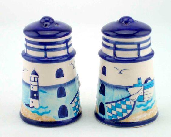 Nautical Salt & Pepper Shakers