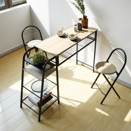 table de cuisine pliante chaise salle
