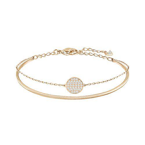 Swarovski Women S Ginger Rose Gold Plated Crystal Jewelry Collection Swarovski In 2020 Swarovski Bracelet Swarovski Jewelry Buy Bracelets