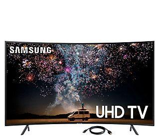 Samsung 55 Class Curved Led Smart 4k Uhd Tv 6 Hdmi Cable Samsung Uhd Tv Smart Tv Samsung Smart Tv