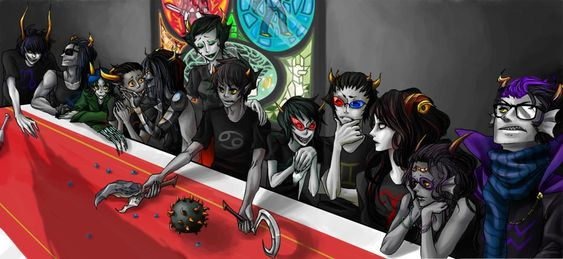 Last Supper Homestuck Fictional Characters Character