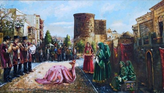 Azerbaijan Art Painting Baku Azerbaijan