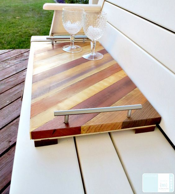 Diy Serving Tray Great Ideas For Hostess Gifts Diy Serving