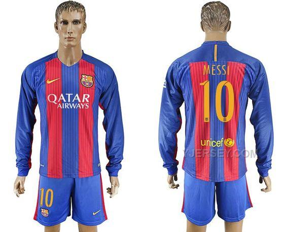 http://www.yjersey.com/201617-barcelona-10-messi-home-long-sleeve-soccer-jersey-cheap.html 2016-17 BARCELONA 10 MESSI HOME LONG SLEEVE SOCCER JERSEY CHEAP Only $35.00 , Free Shipping!