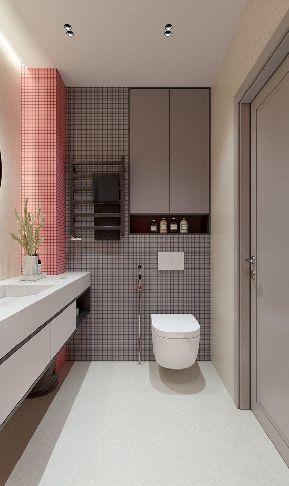 Modest Modern Bathroom