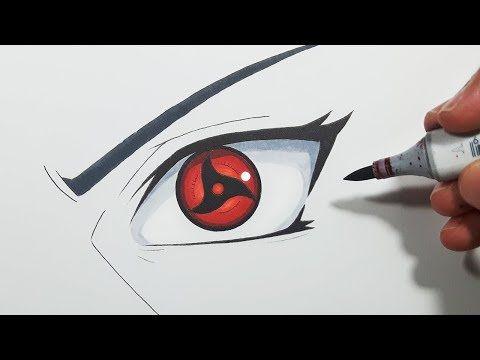 How To Draw Itachi S Mangekyou Sharingan Step By Step Tutorial Youtube Itachi Mangekyou Sharingan Cute Doodle Art Mangekyou Sharingan