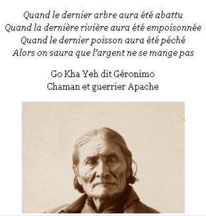 l'homme à qui est attribuée cette citation est né en 1829 et mort en 1909. Quand le monde ne comptait que 1,7 milliards d'habitants...