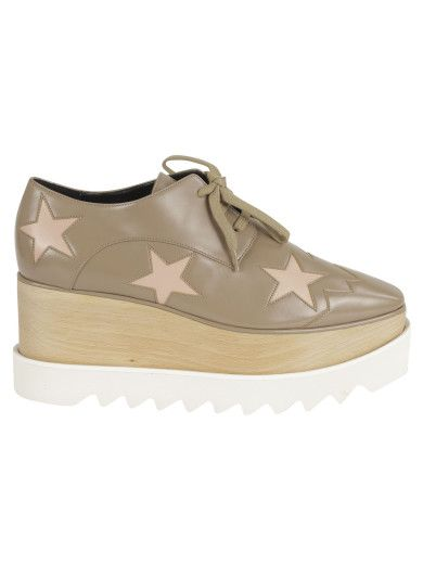 STELLA MCCARTNEY Stella Mccartney Stars Platform Sneakers. #stellamccartney #shoes #sneakers