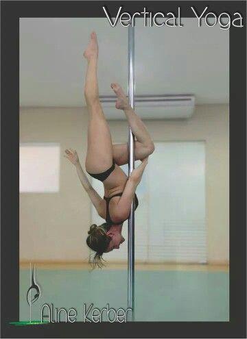 Vertical yoga!
