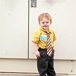 Dwight Schrute kid costume! ha!