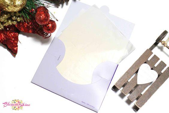 Ovale Beauty Face Paper