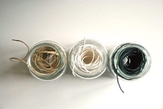 DIY glas.