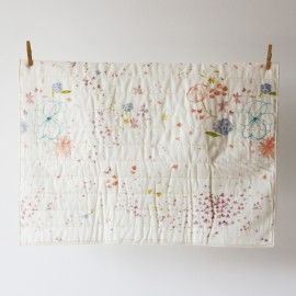 Fuwari whole cloth quilt