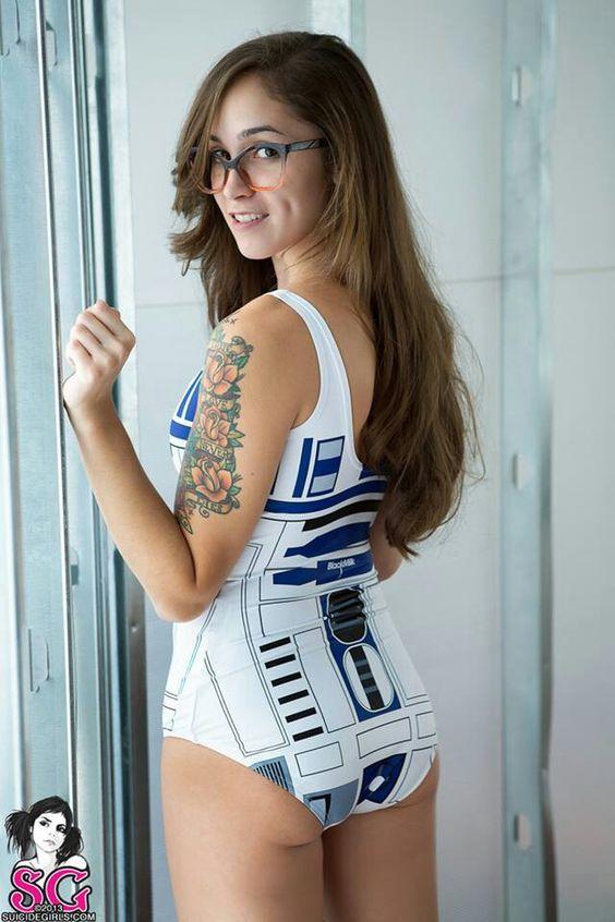 Girl in star wars have sex 7