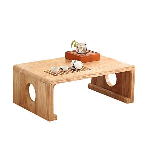 Perfect Furniture Wooden Low Table Balcony Solid Wood Leisure